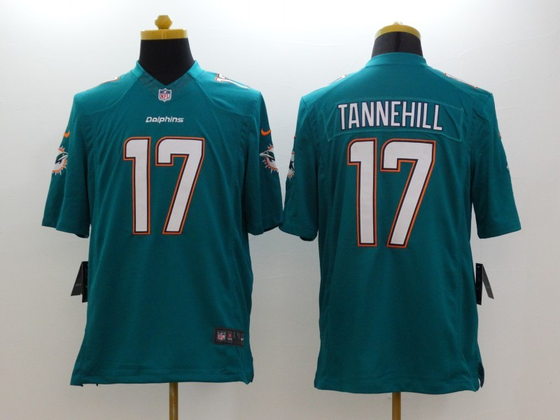 Miami Dolphins 17 Tannehill Green 2014 Nike Limited Jerseys