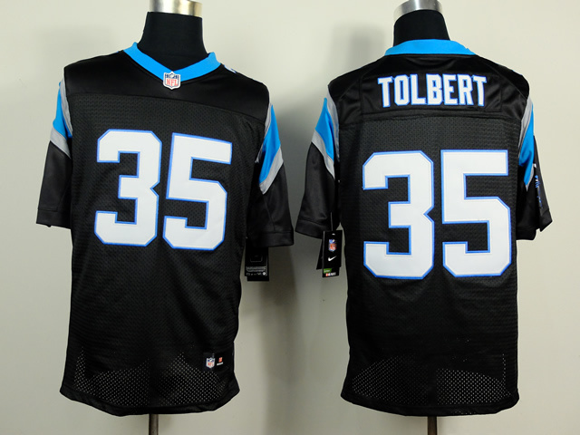Carolina Panthers 35 Tolbert Black 2014 Nike Elite Jerseys
