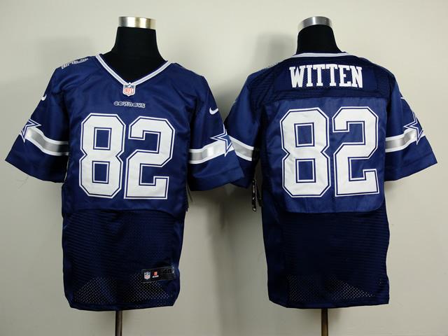 Dallas Cowboys 82 Jason Witten Blue 2014 Nike Elite Jerseys