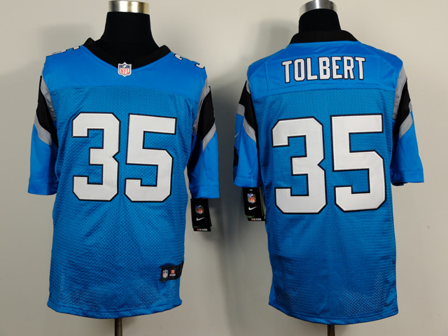 Carolina Panthers 35 Mike Tolbert Light Blue 2014 Nike Elite Jerseys