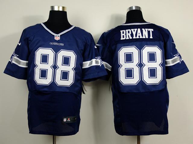 Dallas Cowboys 88 Dez Bryant Blue 2014 Nike Elite Jerseys