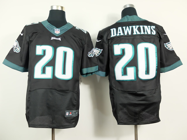Philadelphia Eagles 20 Brian Dawkins Black 2014 Nike Elite Jerseys