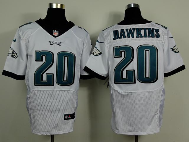 Philadelphia Eagles 20 Brian Dawkins White 2014 Nike Elite Jerseys
