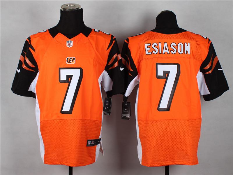 Cincinnati Bengals 7 Boomer Esiason Orange 2014 Nike Elite Jerseys