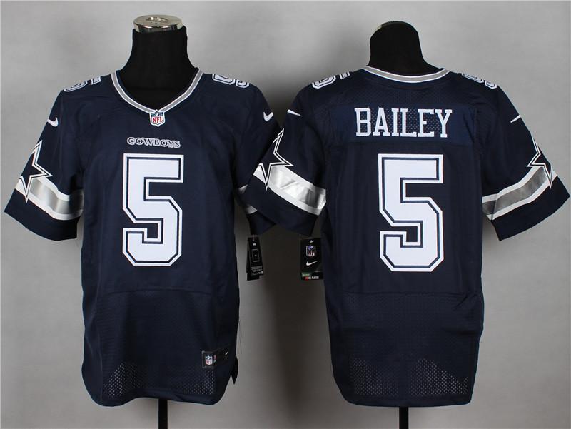 Dallas Cowboys 5 Bailey Blue 2014 Nike Elite Jerseys