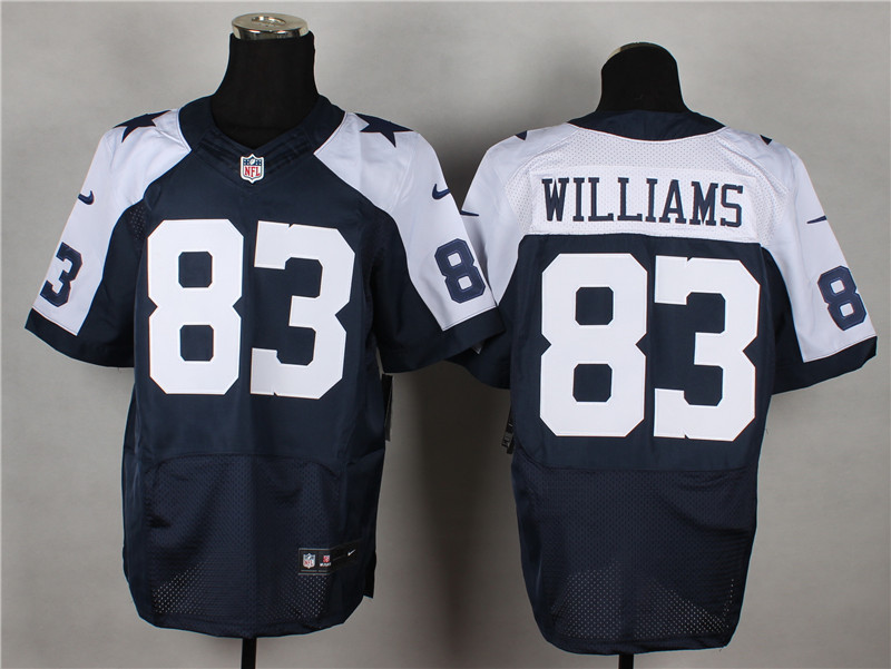 Dallas Cowboys 83 Terrence Williams Blue Thanksgiving 2014 Nike Elite Jerseys