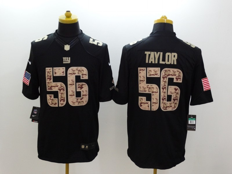 New York Giants 56 Taylor Black 2014 Nike Salute TO Service Jersey
