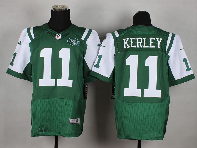 New York Jets 11 Kerley Green 2014 Nike Elite Jerseys