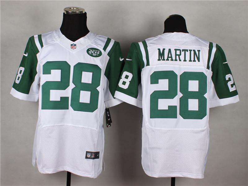 New York Jets 28 Martin White 2014 Nike Elite Jerseys