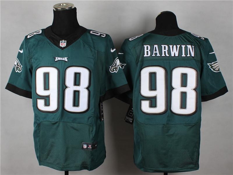 Philadelphia Eagles 98 Barwin Green 2014 Nike Elite Jerseys
