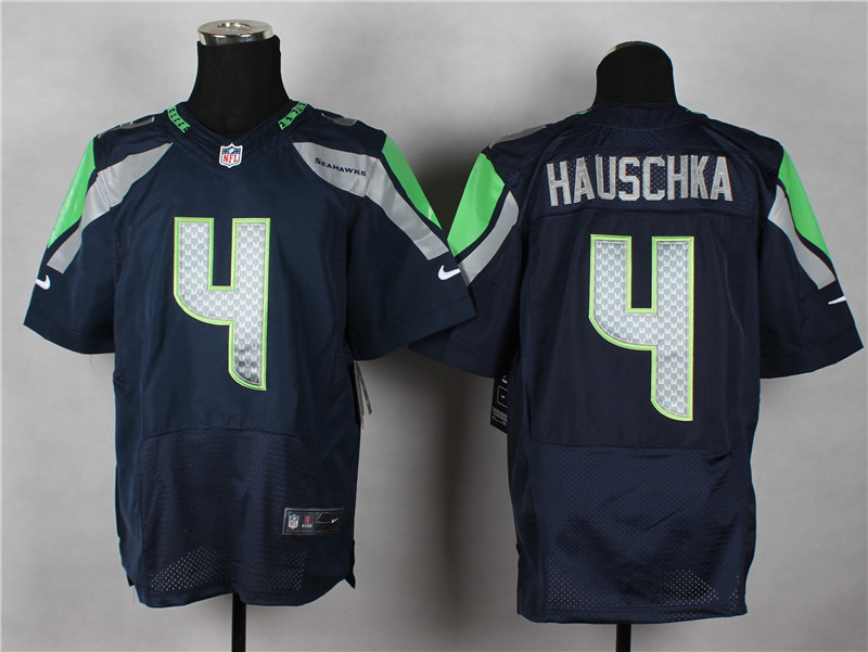Seattle Seahawks 4 Hauschka Blue 2014 Nike Elite Jerseys