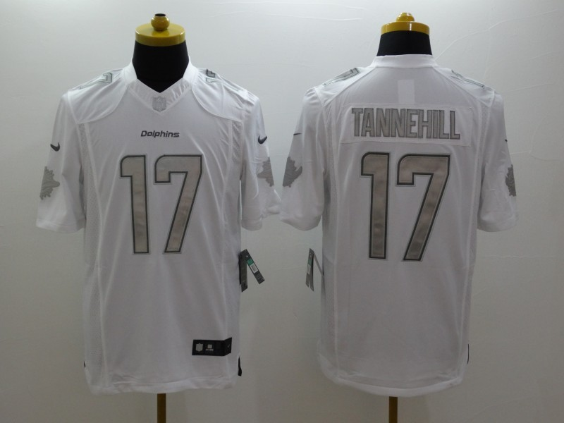 Miami Dolphins 17 Tannehill White 2014 New Nike Limited Jerseys