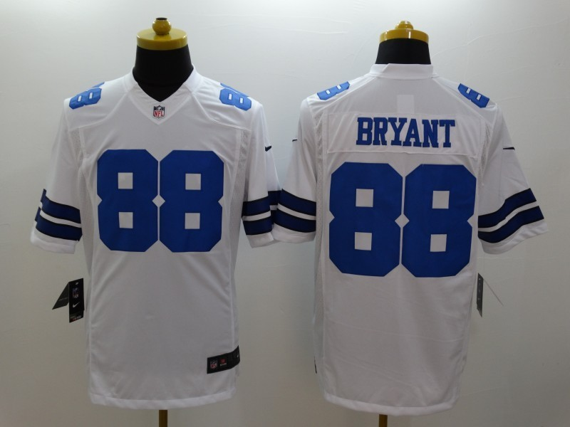 Dallas Cowboys 88 Dez Bryant White 2014 Nike Limited Jerseys