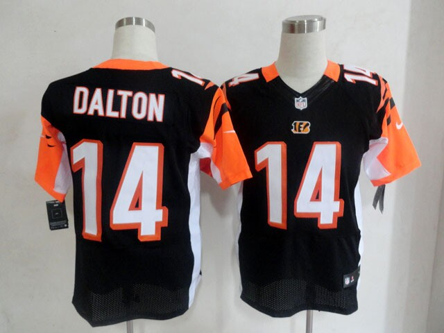 nike nfl jerseys Cincinnati Bengals 14 Andy Dalton black elite jerseys