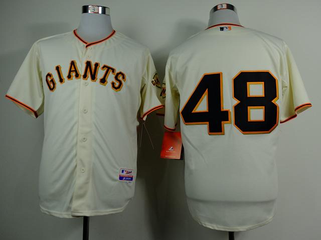 MLB San Francisco Giants 48 Pablo Sandoval Gream 2014 Jerseys