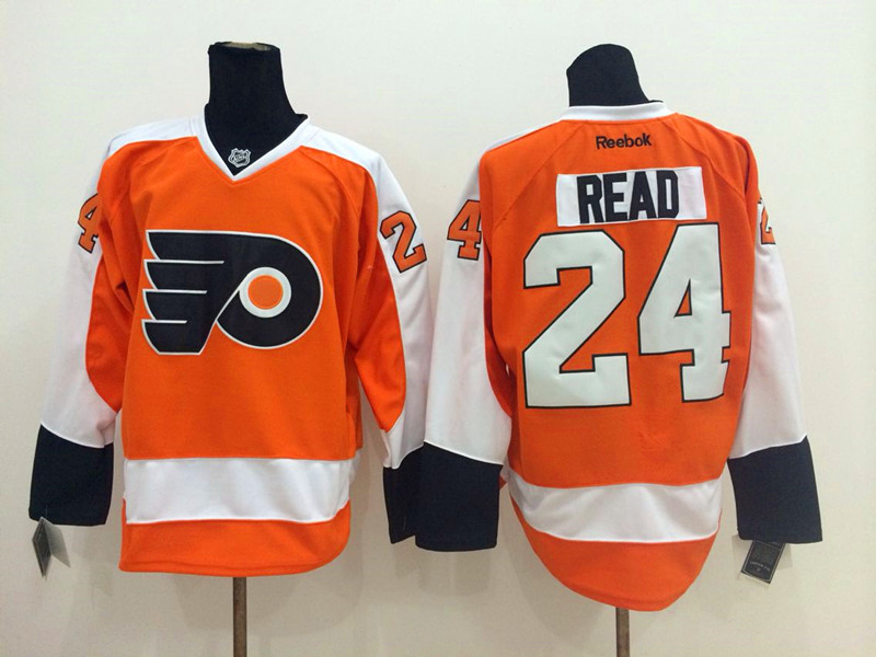 NHL Philadelphia Flyers 24 Read Orange 2014 Jerseys