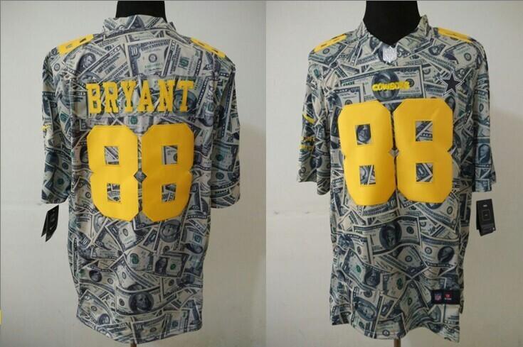 Dallas Cowboys 88 Dez Bryant Dollar version 2014 Nike Jerseys