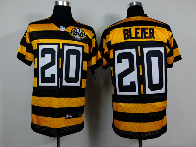 Pittsburgh Steelers 20 Bleier Yellow Black 2014 Nike jerseys