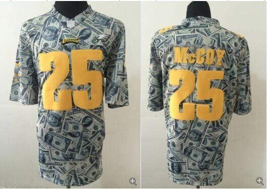Philadelphia Eagles 25 LeSean McCoy Dollar version 2014 Nike Jerseys