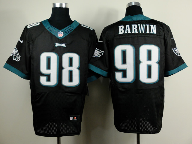 Philadelphia Eagles 98 Barwin Black 2014 New Nike Elite Jerseys