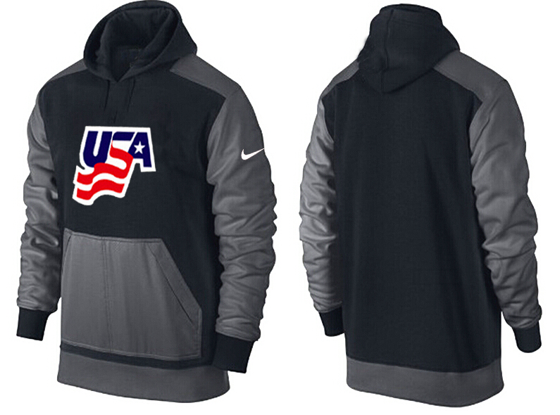 Men USA Pullover Hoodie 1
