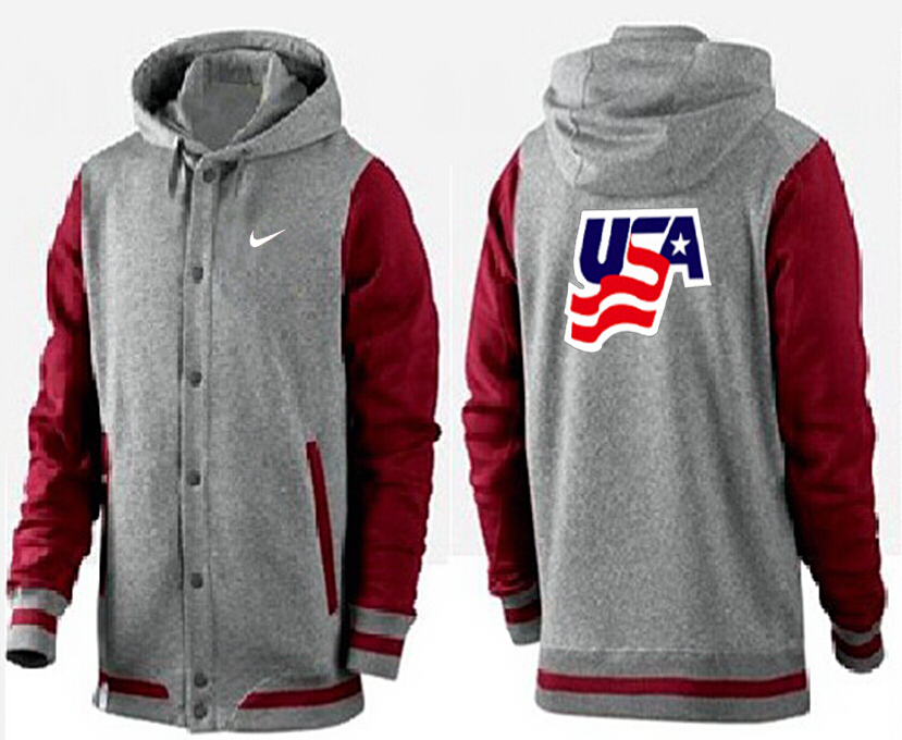 Men USA Pullover Hoodie 10