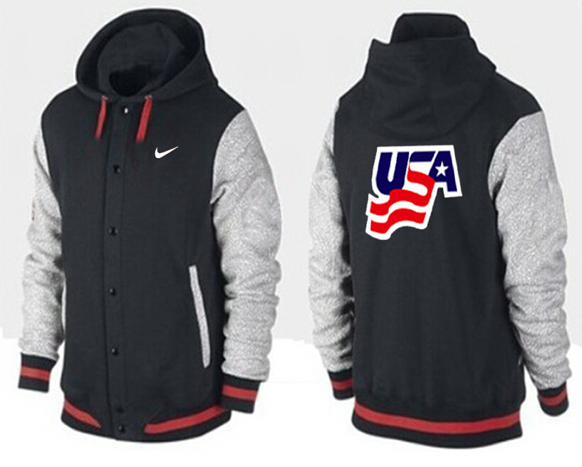Men USA Pullover Hoodie 12
