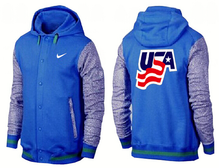 Men USA Pullover Hoodie 13