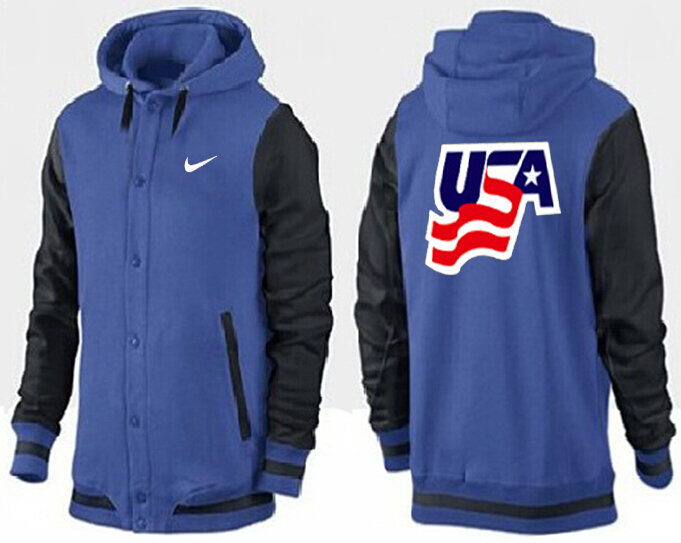 Men USA Pullover Hoodie 14