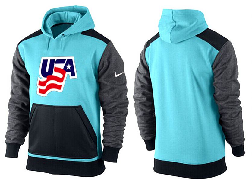 Men USA Pullover Hoodie 3
