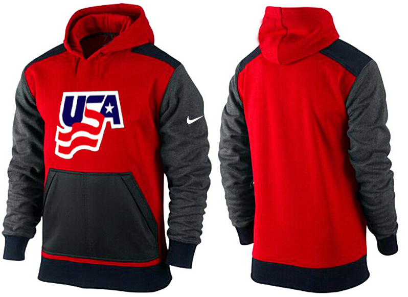 Men USA Pullover Hoodie 4