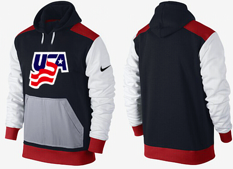 Men USA Pullover Hoodie 5