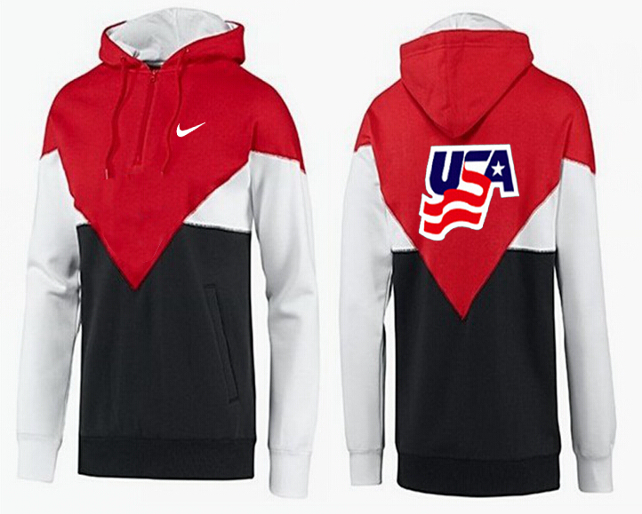 Men USA Pullover Hoodie 7
