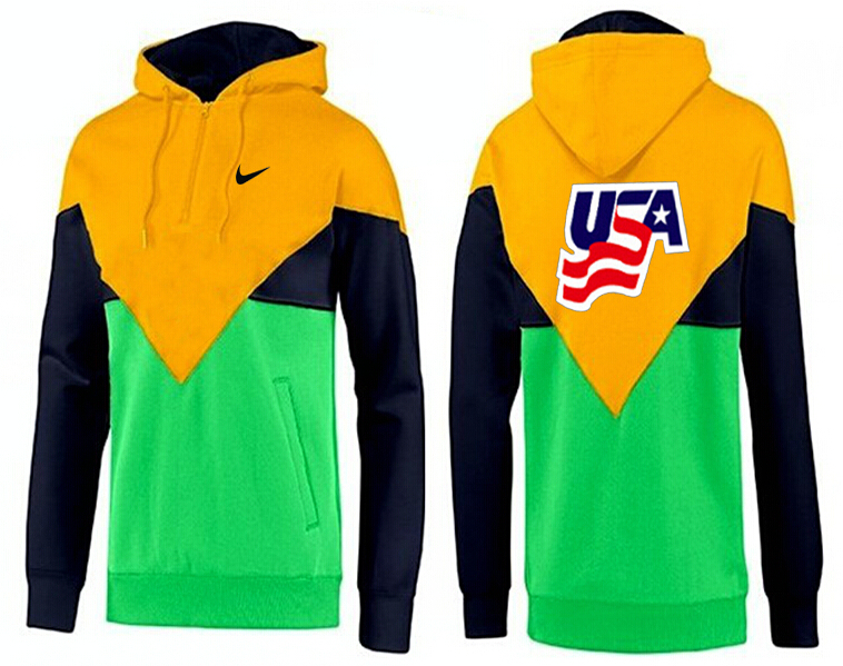 Men USA Pullover Hoodie 8