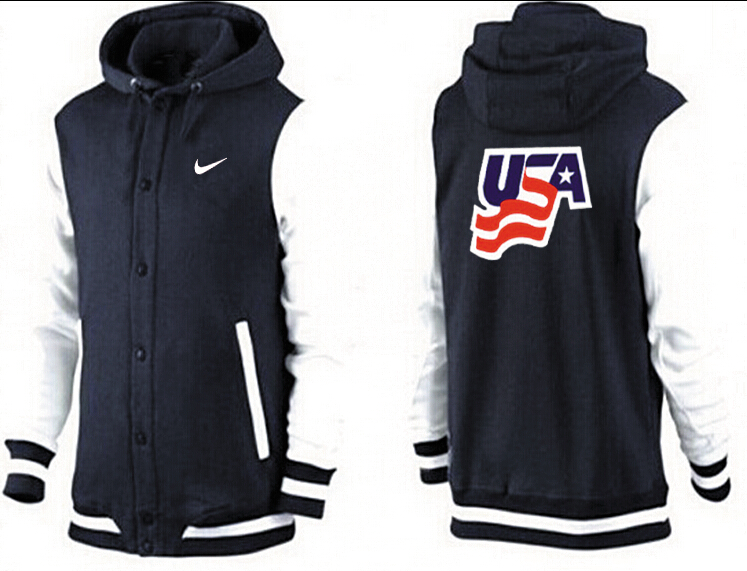 Men USA Pullover Hoodie 9