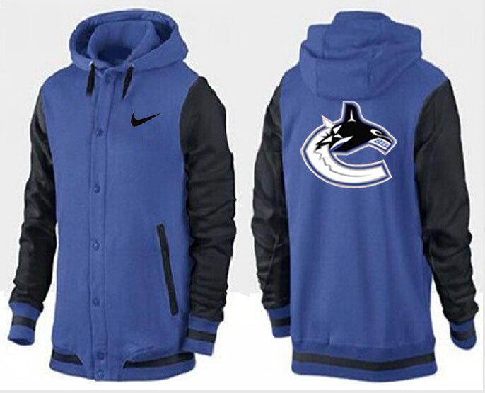 Men Vancouver Canucks Pullover Hoodie 0109