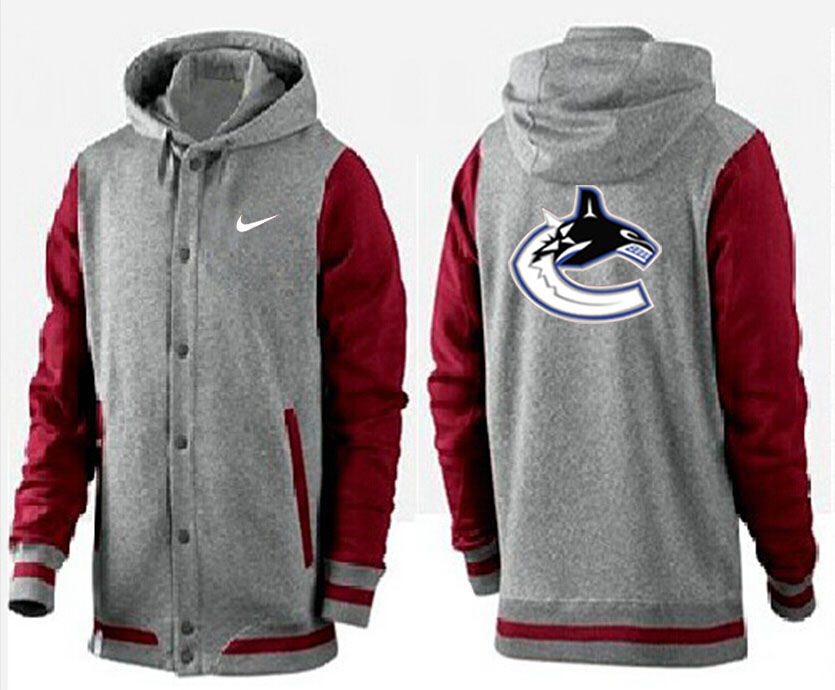 Men Vancouver Canucks Pullover Hoodie 0113