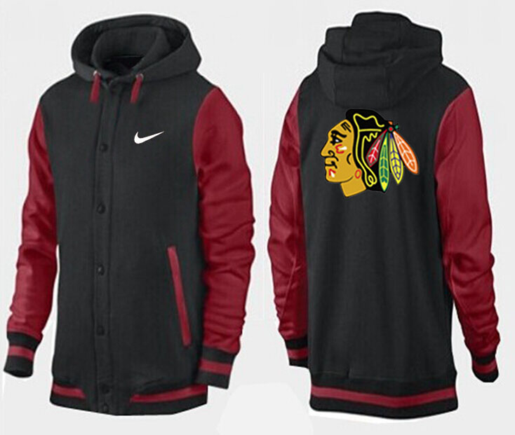 Men Chicago Blackhawks Pullover Hoodie 0139