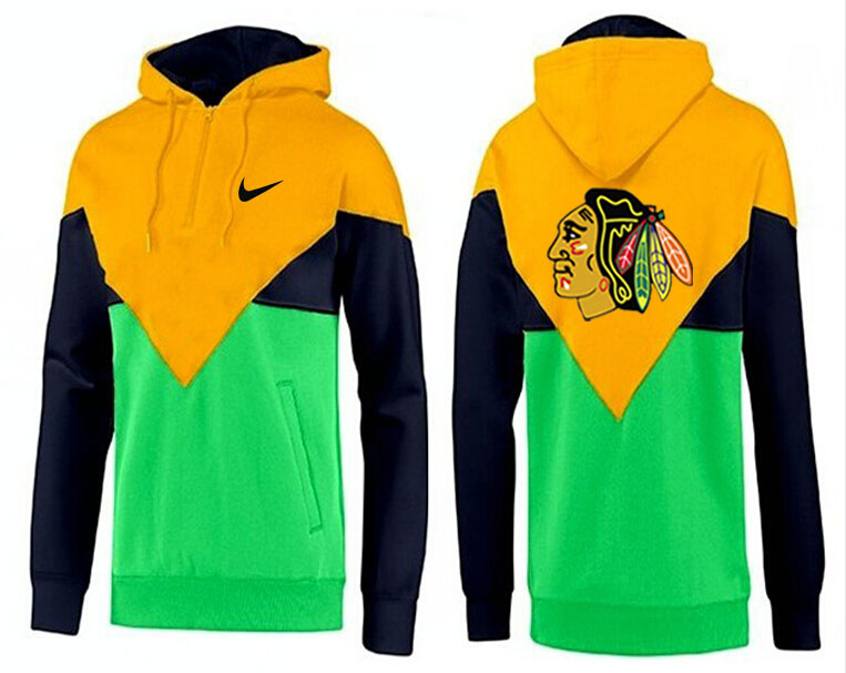 Men Chicago Blackhawks Pullover Hoodie 0146