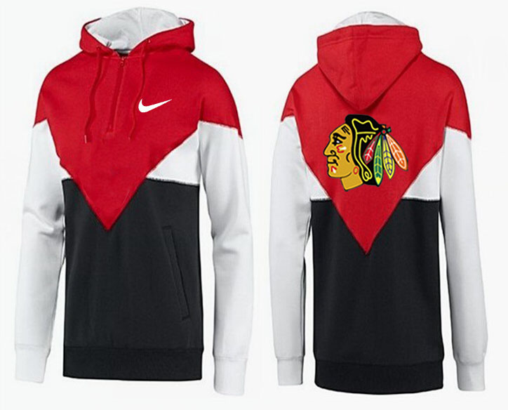 Men Chicago Blackhawks Pullover Hoodie 0147