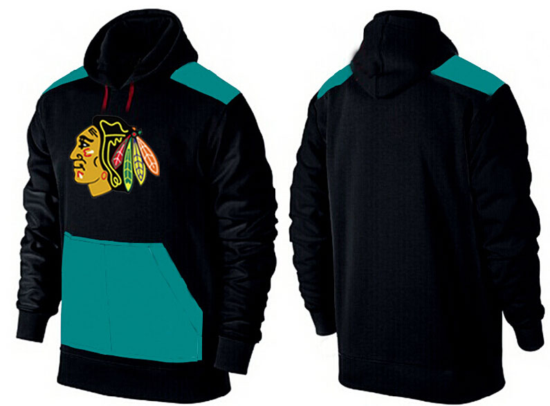 Men Chicago Blackhawks Pullover Hoodie 0148