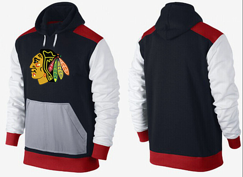Men Chicago Blackhawks Pullover Hoodie 0149