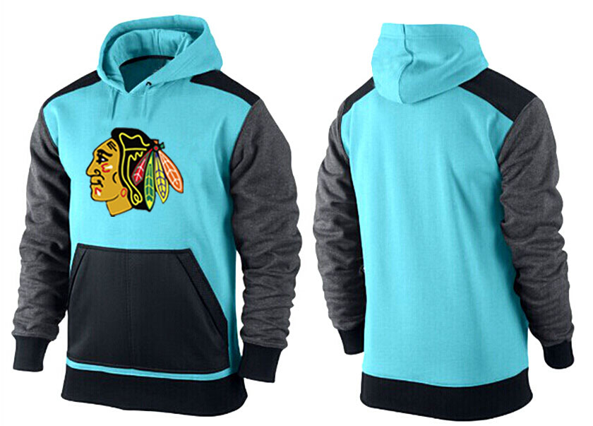 Men Chicago Blackhawks Pullover Hoodie 0151