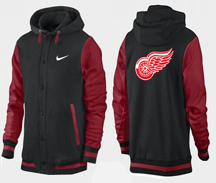 Men Detroit Red Wings Pullover Hoodie 0110