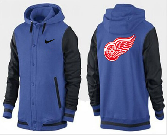 Men Detroit Red Wings Pullover Hoodie 0111