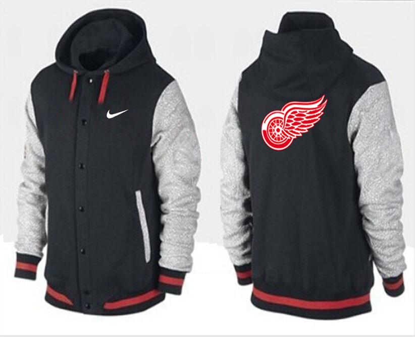 Men Detroit Red Wings Pullover Hoodie 0113