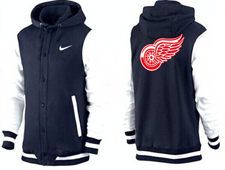 Men Detroit Red Wings Pullover Hoodie 0116