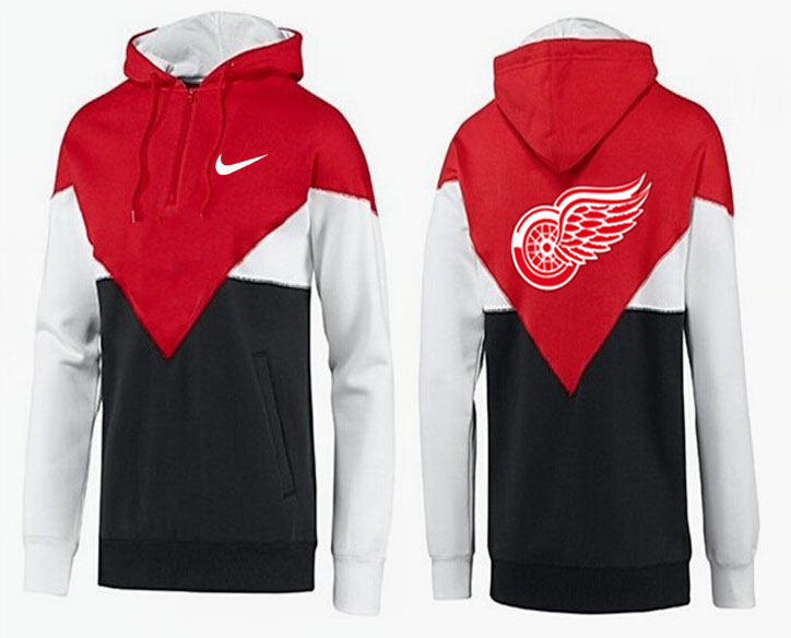 Men Detroit Red Wings Pullover Hoodie 0118