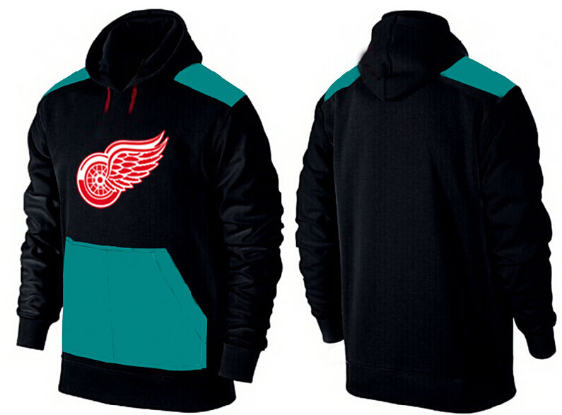 Men Detroit Red Wings Pullover Hoodie 0119