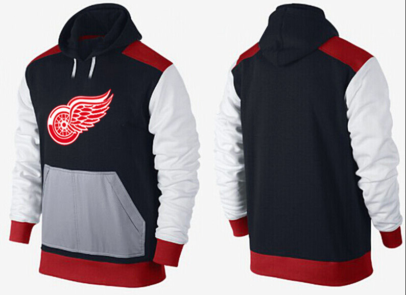 Men Detroit Red Wings Pullover Hoodie 0120